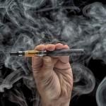 e-cigaret med masser af røg