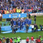 LCFC_lift_the_Premier_League_Trophy_(26943755296)